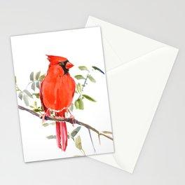 Cardinal Bird Stationery Cards