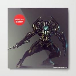 Darkfall Zero Metal Print