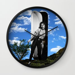 I'm Outta Here! Wall Clock