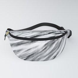 Black & White Pixel Wind Fanny Pack