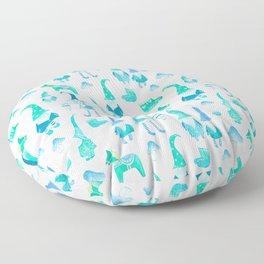 Tomte, Nisse, Swedish gnomes Floor Pillow