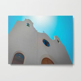 Spanish Church Metal Print