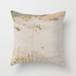 Sea Oat Throw Pillow