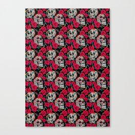 Sugar & Roses Canvas Print
