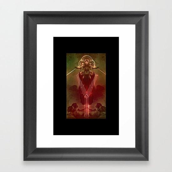 8998 Framed Art Print