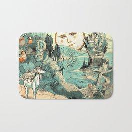 Last Unicorn Journey Bath Mat
