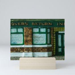 Rovers Return, Coronation Street in Miniature Mini Art Print