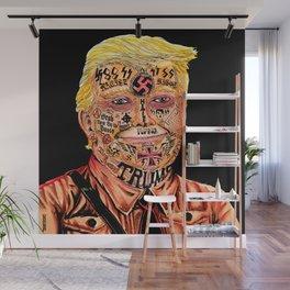 Racist President Wall Mural