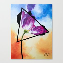 Twisted Tulip Canvas Print