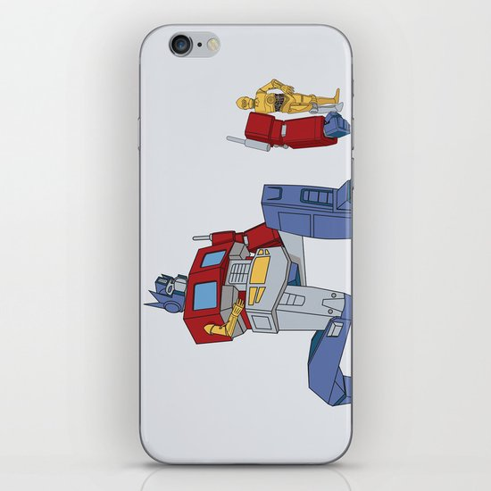 Not the Parts they were looking for... iPhone Skin
