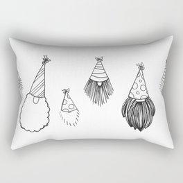 Beard-day Party Rectangular Pillow