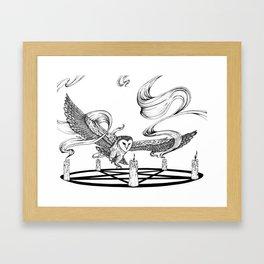 Mystic Owl Framed Art Print