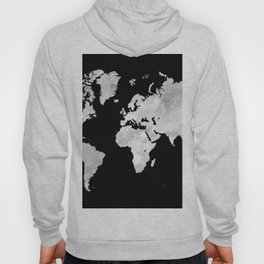 Design 70 world map Hoody
