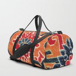 Shigatse South Tibetan Jabuye Rug Print Duffle Bag
