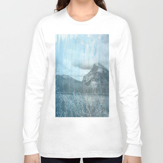 Blue Blue Skies Long Sleeve T-shirt