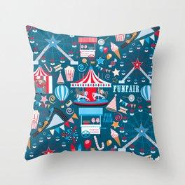 Fun Fair Throw Pillow