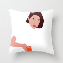 St. Vincent Throw Pillow