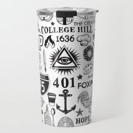 Providence Rhode Island Print Travel Mug