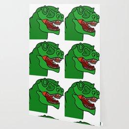 Green T-Rex Wallpaper