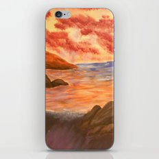 Beach Sunset iPhone & iPod Skin
