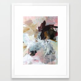 the last night Framed Art Print