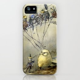 """""""Bother the Gnat"""" by Duncan Carse iPhone Case"""