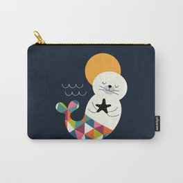 Seals Mermaid Carry-All Pouch