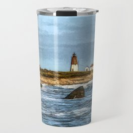 Soothing Ocean Sounds and Sights Travel Mug
