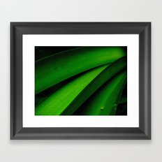 Greener than Green Framed Art Print