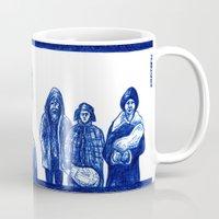 frank Mugs featuring Frank by Unaitxo