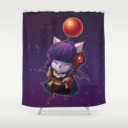 Mazoku Mog Shower Curtain