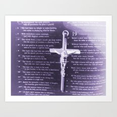 The Word Art Print