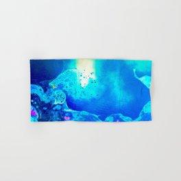 Electric Lagoon Hand & Bath Towel