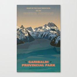 Garibaldi Park Poster Canvas Print