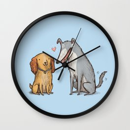 Lady & the Tramp Wall Clock
