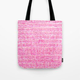 Sea of pink - a handmade pattern Tote Bag
