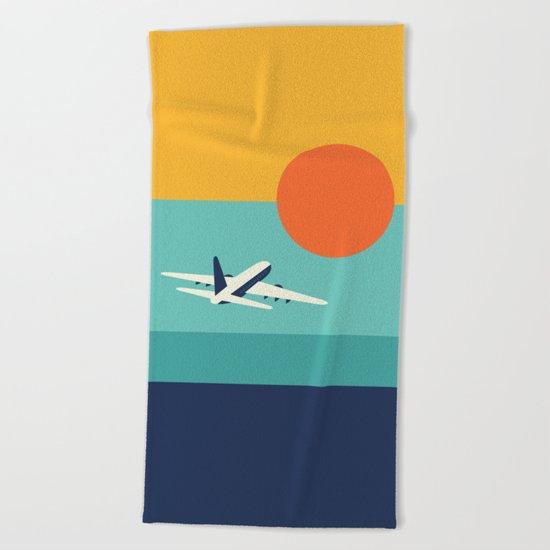 Fly Away Beach Towel