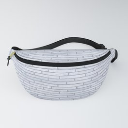 White Brick Wall Fanny Pack