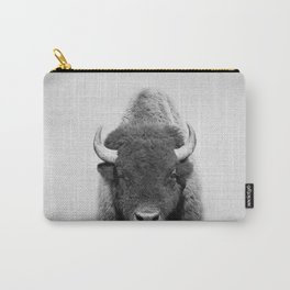 Buffalo - Black & White Carry-All Pouch