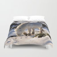 pony Duvet Covers featuring Dartmoor Pony by Jtiffinphotography