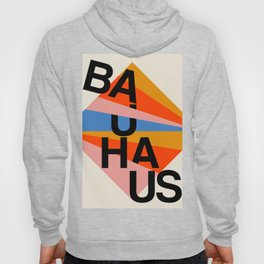 BAUHAUS POSTER - Mid century modern, mid-century wall art, print, geometric wall art, abstract wall Hoody
