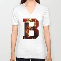 brooklyn V-neck T-shirts featuring BROOKLYN by Tiffany Pham