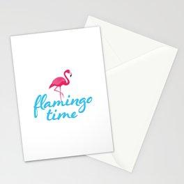 Flamingo time Stationery Cards