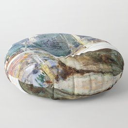 Drydock, Gloucester - Digital Remastered Edition Floor Pillow