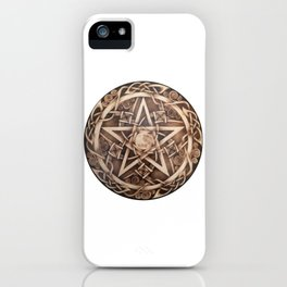 Brigid's Pentacle iPhone Case