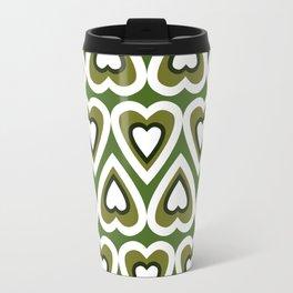Retro Heart Felt Love in Spring Time Travel Mug