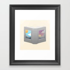 Another Way to Be Free Framed Art Print