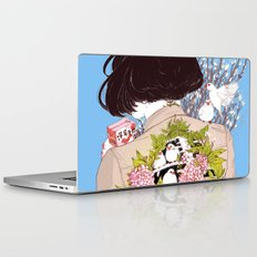 Strawberry Milk Laptop & iPad Skin