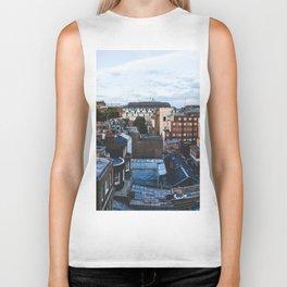 London Buildings Biker Tank