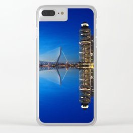 Rotterdam Netherlands Clear iPhone Case
